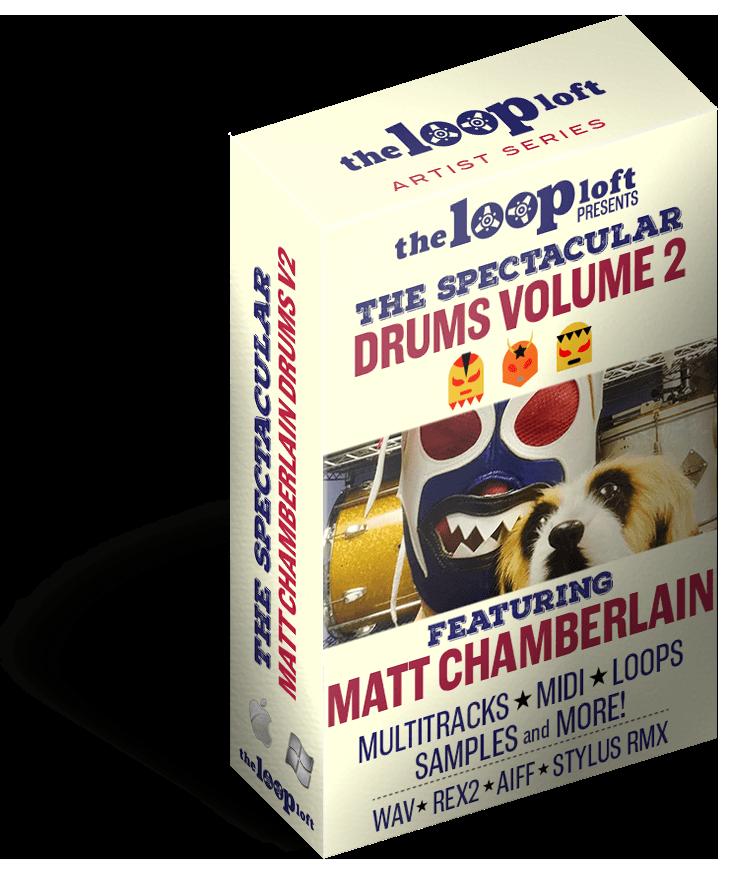 the loop loft releases matt chamberlain drums vol2 news audiofanzine. Black Bedroom Furniture Sets. Home Design Ideas