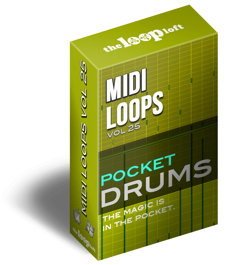 the loop loft releases pocket drums vol 1 midi drum loops audiofanzine. Black Bedroom Furniture Sets. Home Design Ideas