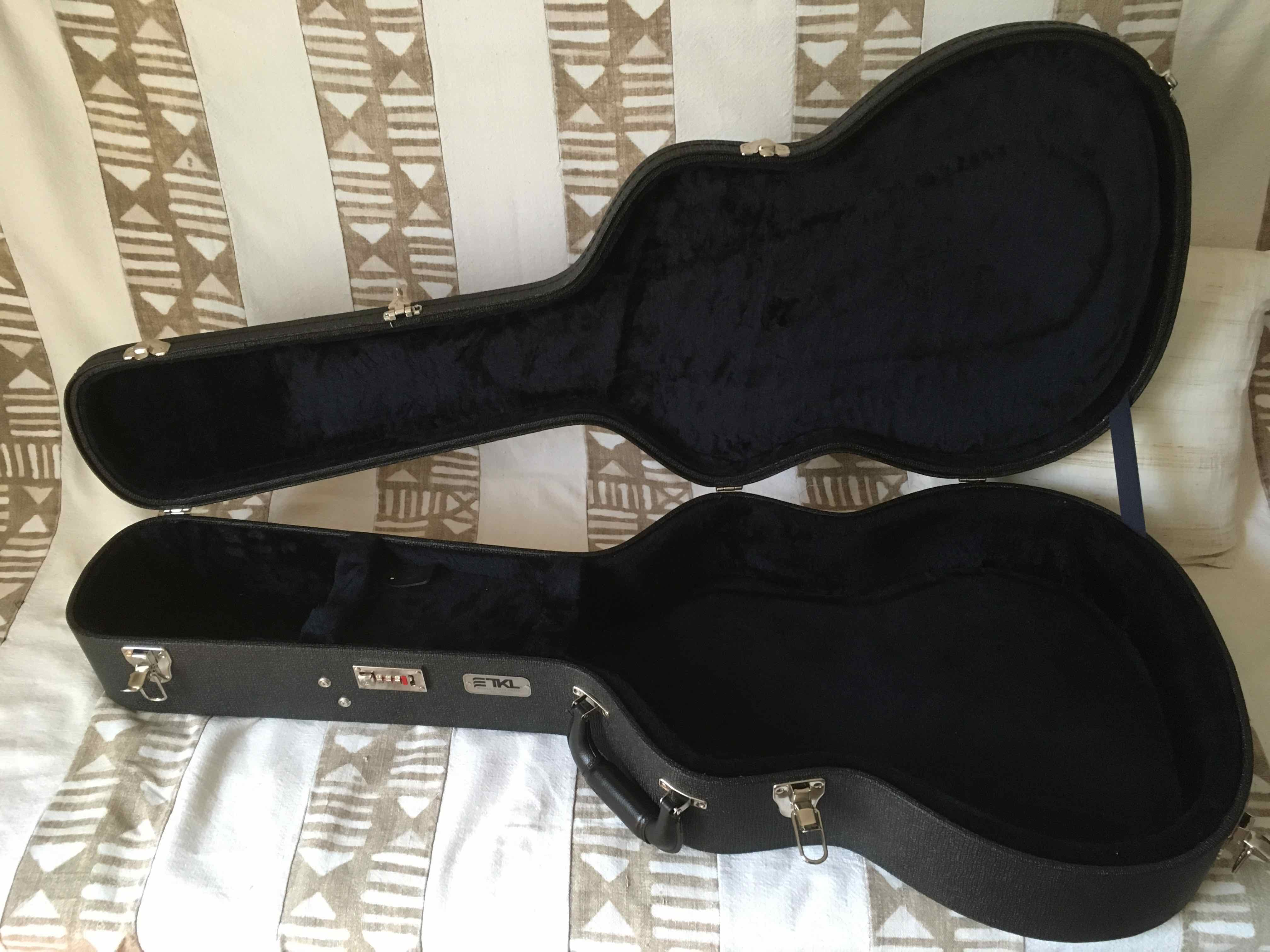 Pictures And Images Tkl Arch Top Classical00 Guitar Case Audiofanzine