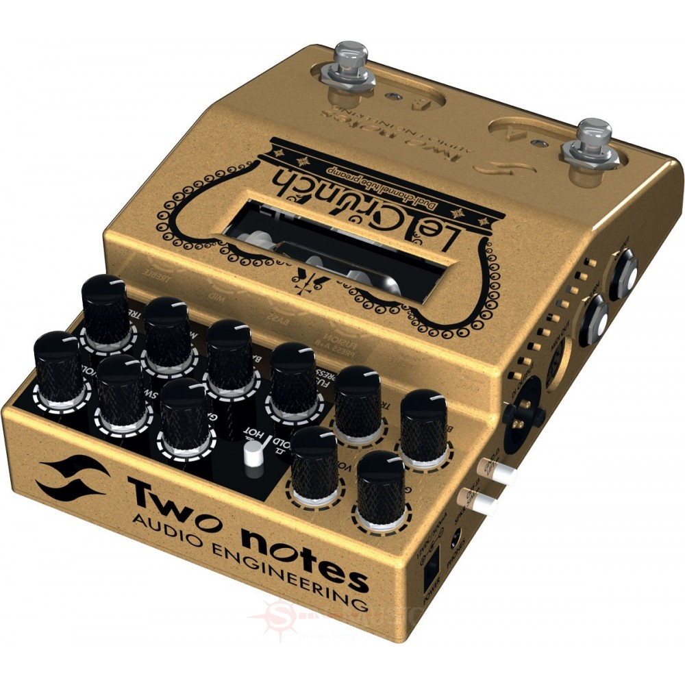 Two Notes Le Crunch : two notes audio engineering le crunch video two notes le crunch pedal preamp demo martial ~ Russianpoet.info Haus und Dekorationen