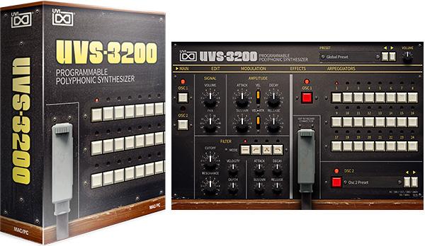 Le Korg PS-3200 chez UVI