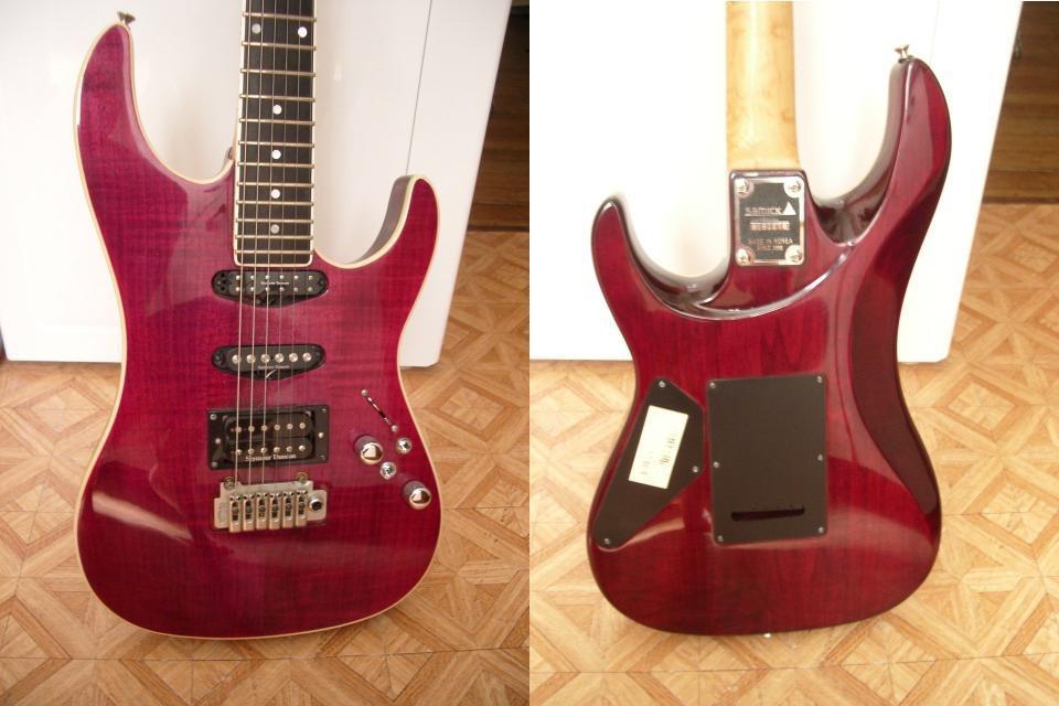 guitare electrique samick