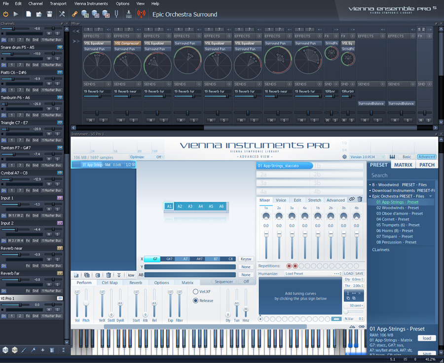 The Vsl Vienna Ensemble Pro Supports Mas Plug In Format For Motu