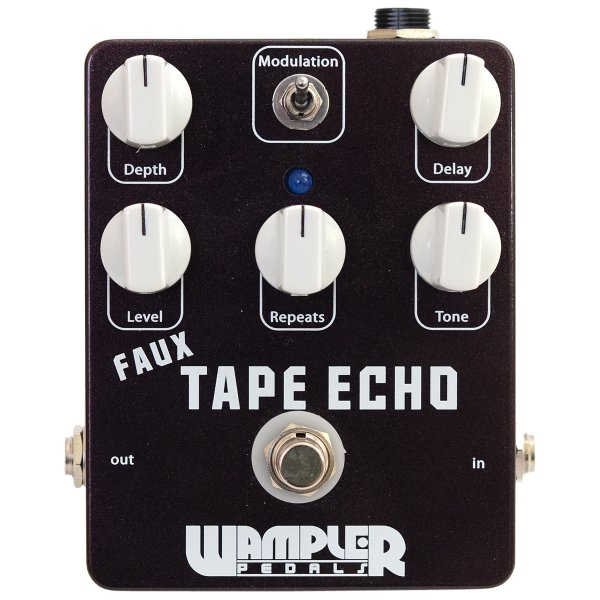 best tape echo without tape reviews wampler pedals faux tape echo audiofanzine. Black Bedroom Furniture Sets. Home Design Ideas