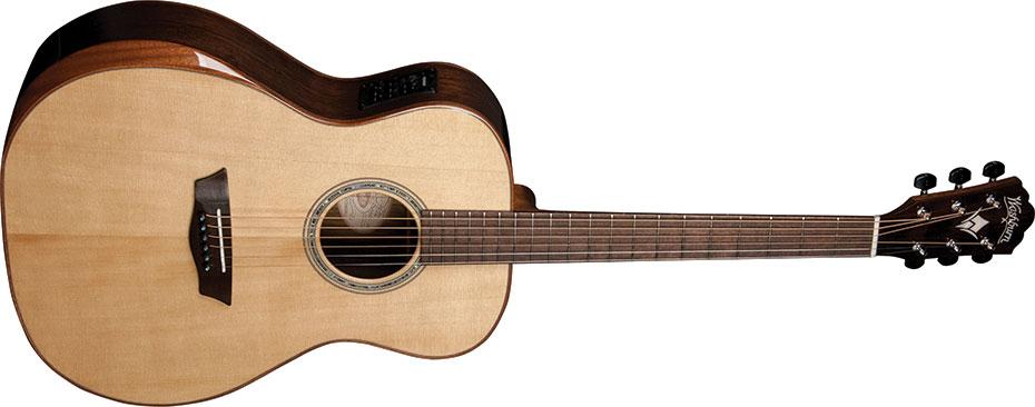 Washburn sort la guitare électroacosutique WCG700SWEK ...