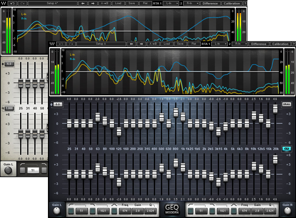 New waves dual graphic eq news audiofanzine - Table de mixage virtuel a telecharger gratuitement ...