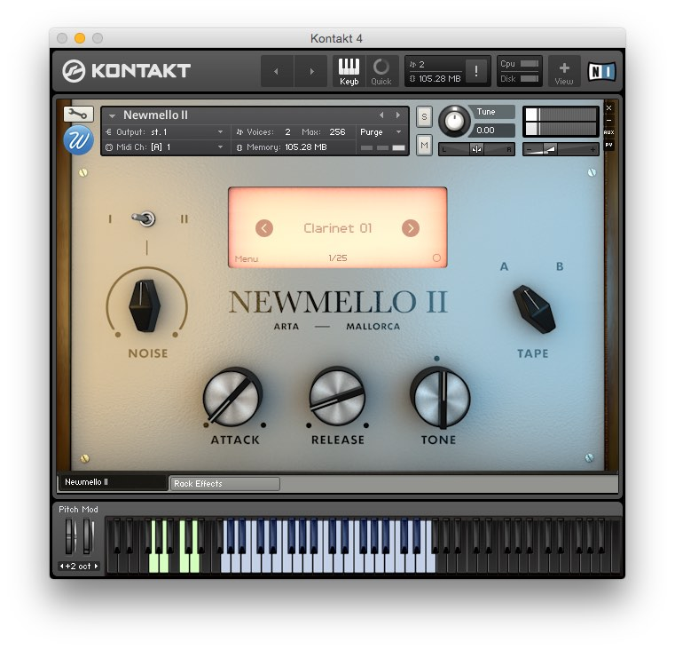 Wavesfactory releases second volume in its Newmello virtual