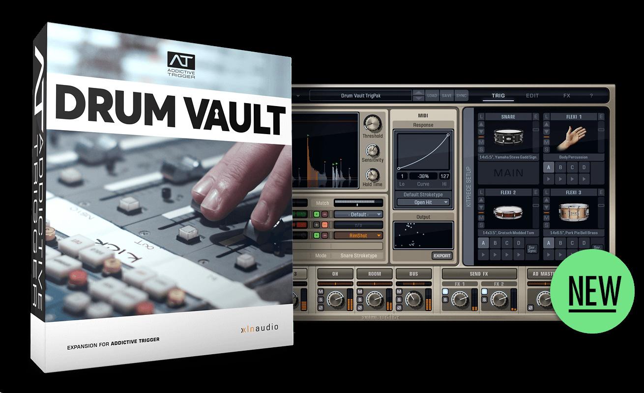 Videos XLN Audio Drum Vault TrigPak - Audiofanzine