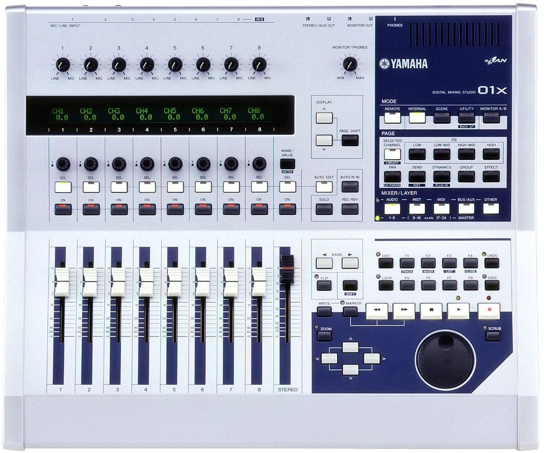 Mixage 18 pistes forum yamaha 01x 2 2 audiofanzine for Table de mixage yamaha 6 pistes