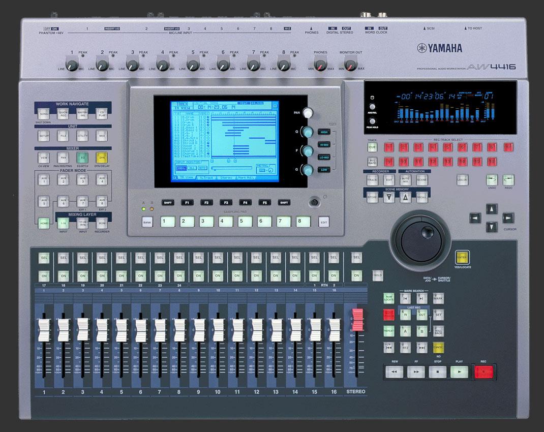 aw4416 yamaha aw4416 audiofanzine