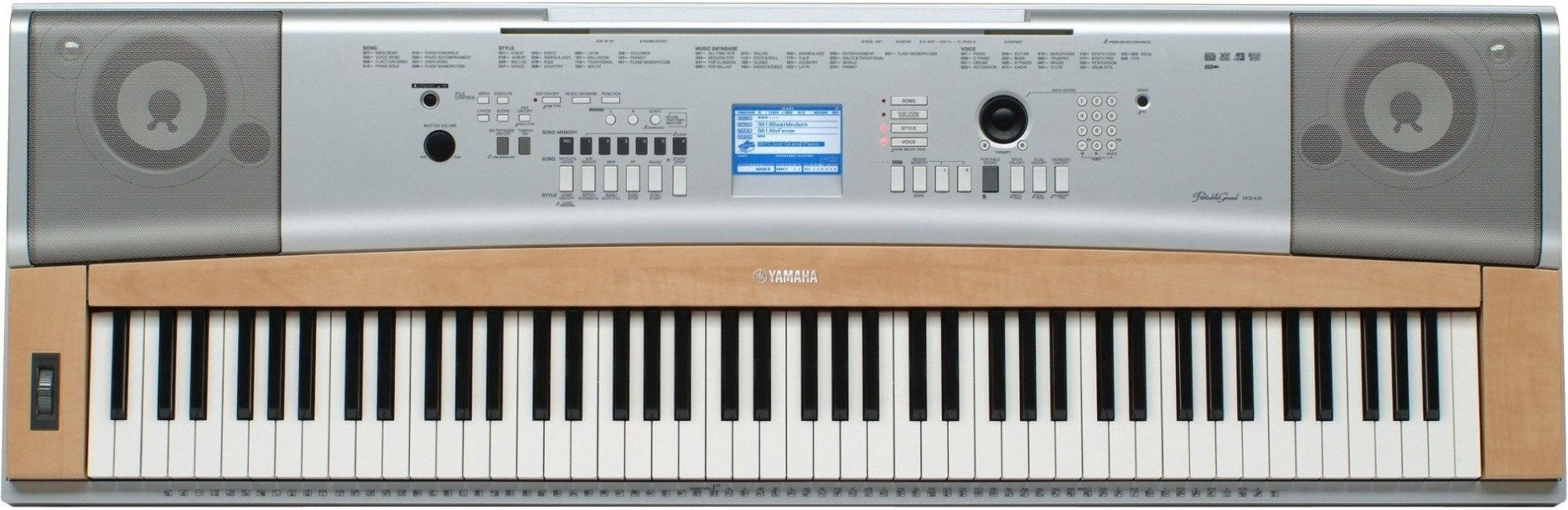 DGX-630 - Yamaha DGX-630 - Audiofanzine