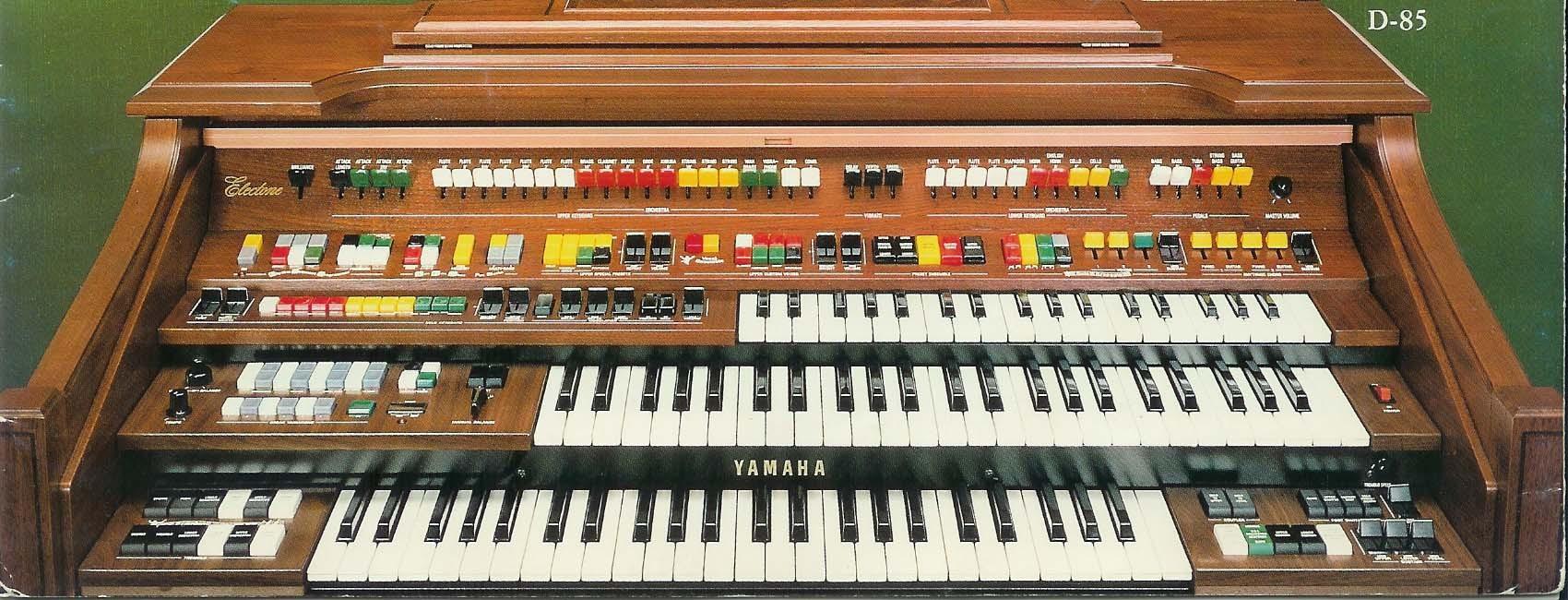 User reviews: Yamaha Electone D85 - Audiofanzine
