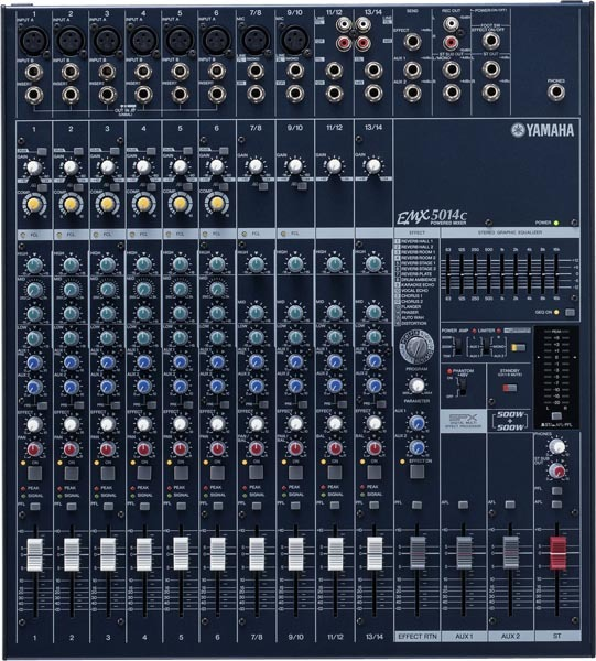 Achat prix yamaha emx5014c audiofanzine - Table de mixage en ligne gratuit ...