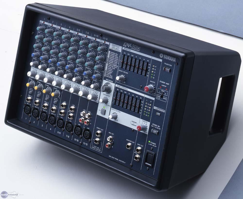 Table de mixage emx 512 sc yamaha audiofanzine - Console de mixage amplifiee ...