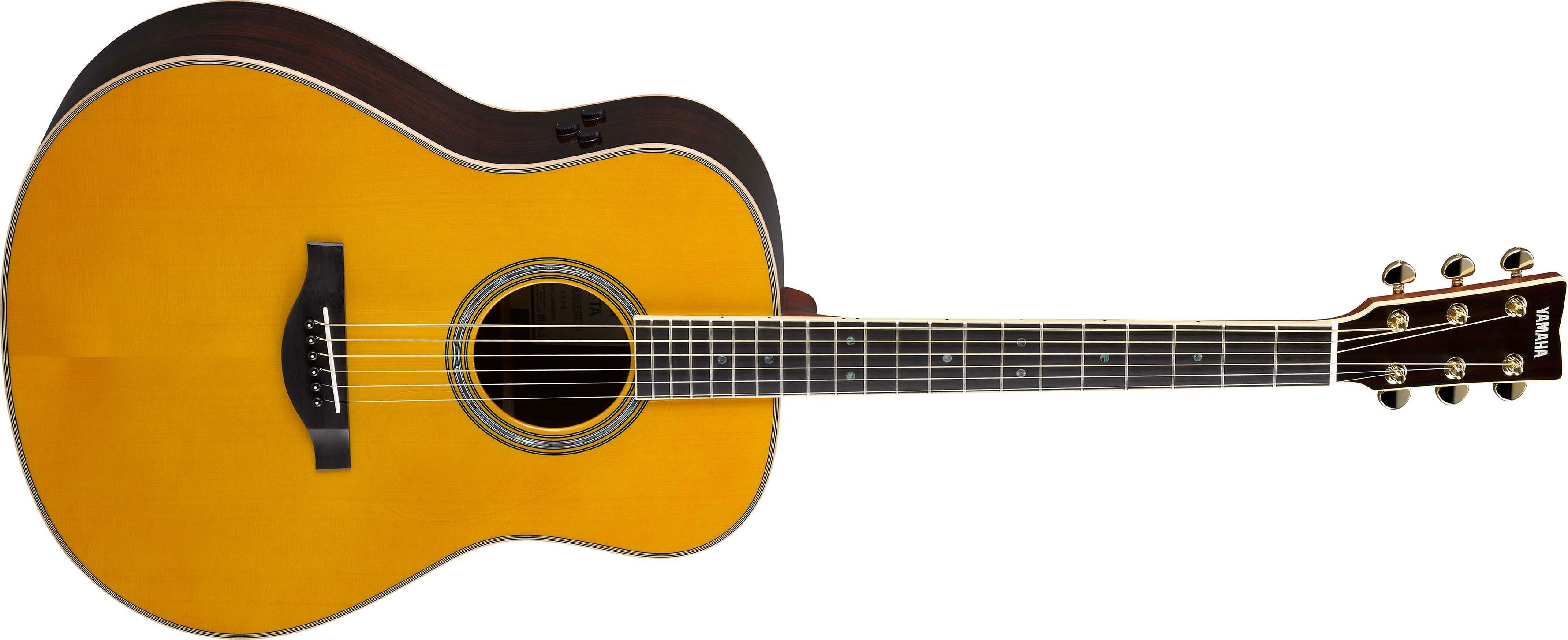 une guitare toute massive avec une reverb - Avis Yamaha LL ...