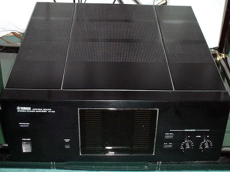 ampli de puissance hifi de forte puissance visant le haut de gamme avis yamaha m50 audiofanzine. Black Bedroom Furniture Sets. Home Design Ideas