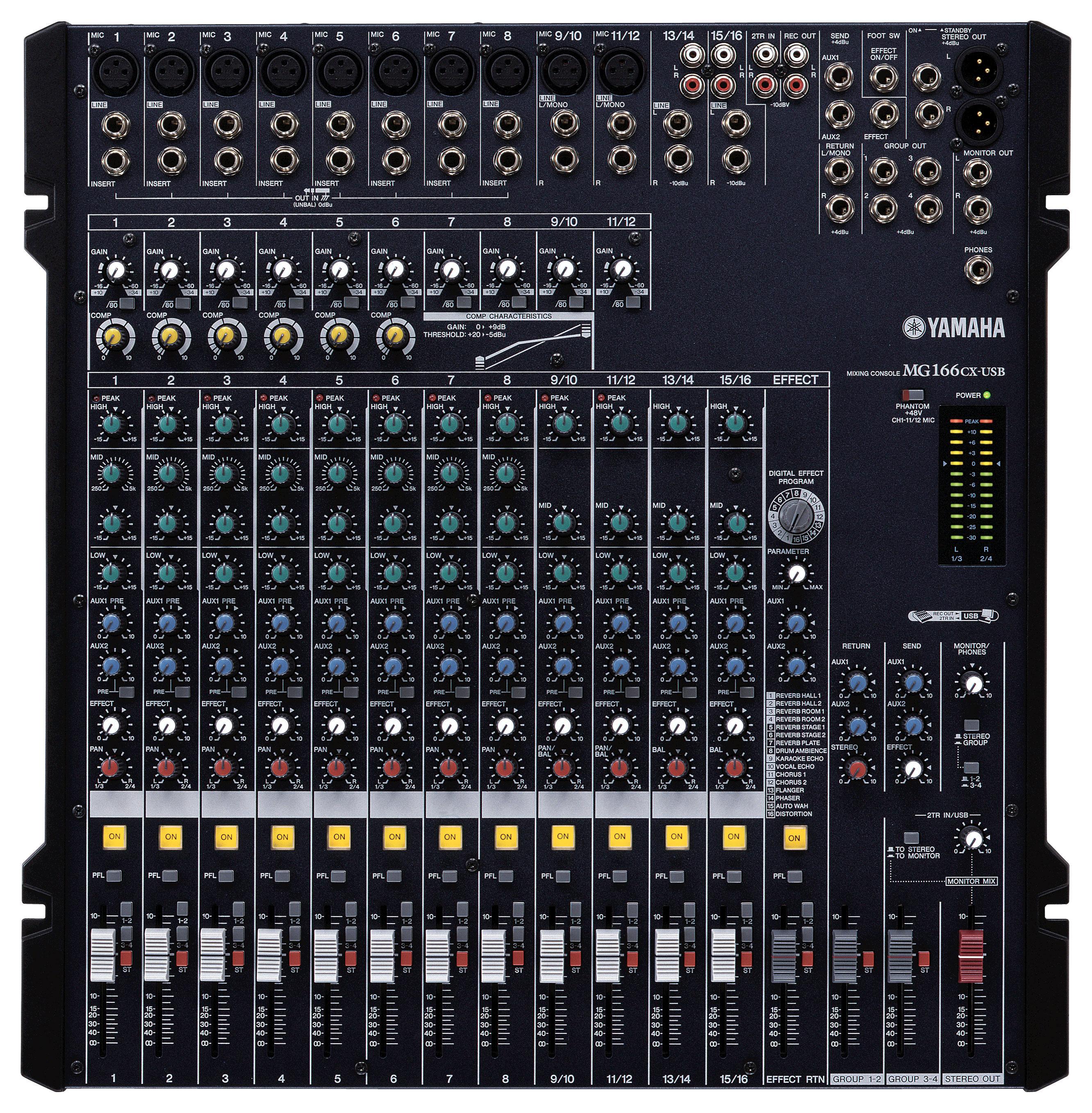 Mg166cx usb yamaha mg166cx usb audiofanzine - Table de mixage yamaha usb ...