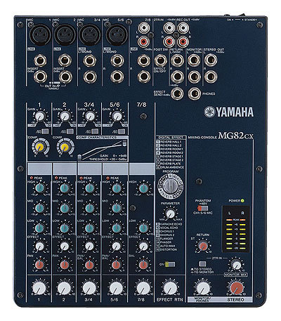 table de mixage yamaha 6 pistes