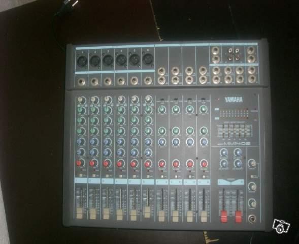 Retours sur cette table de mixage forum yamaha mm 1402 audiofanzine for Table yamaha