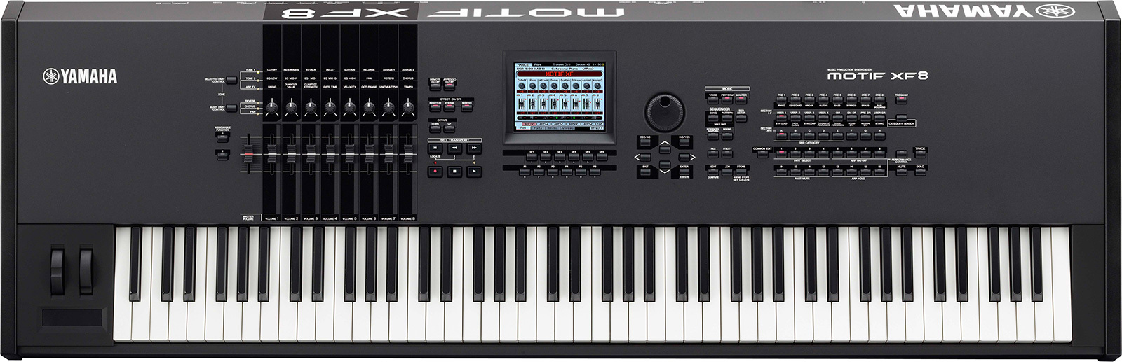 32 audio demos of yamaha motif xf8 audiofanzine for Yamaha motif keyboard