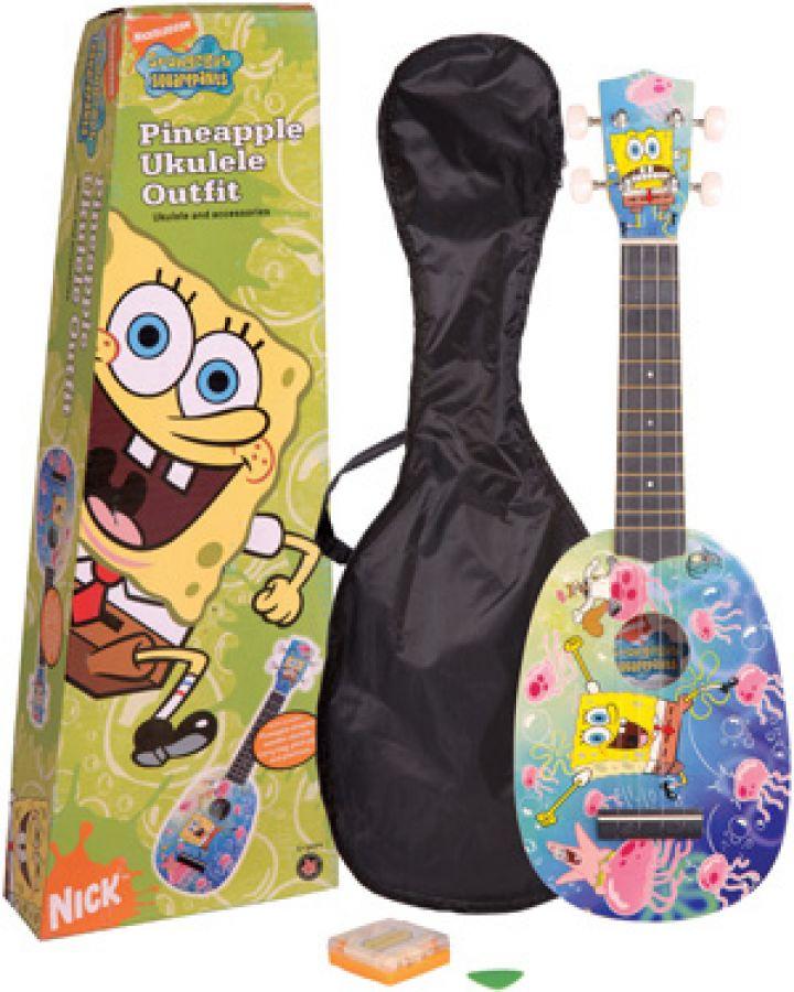 yamaha ukulele. yamaha nickelodeon spongebob squarepants \u0027pineapple\u0027 ukulele outfit