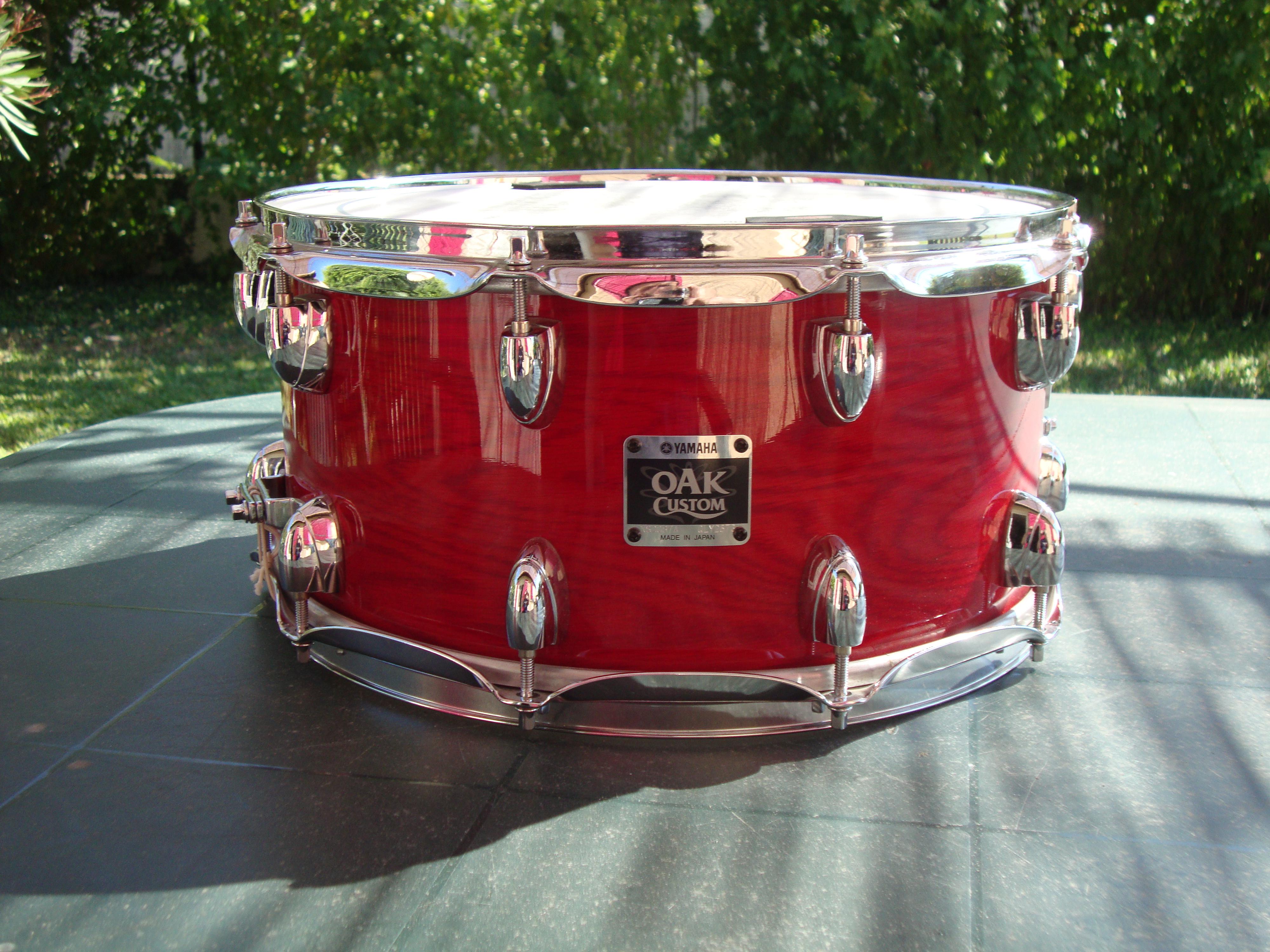 oak custom snare 14x6 5 yamaha oak custom snare 14x6 5 audiofanzine. Black Bedroom Furniture Sets. Home Design Ideas