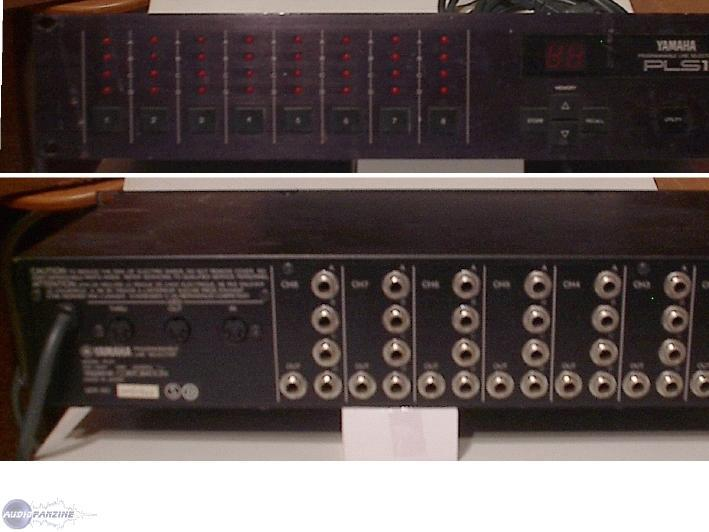 Documents, presets, manuals Yamaha PLS1 Midi Controlled Audio