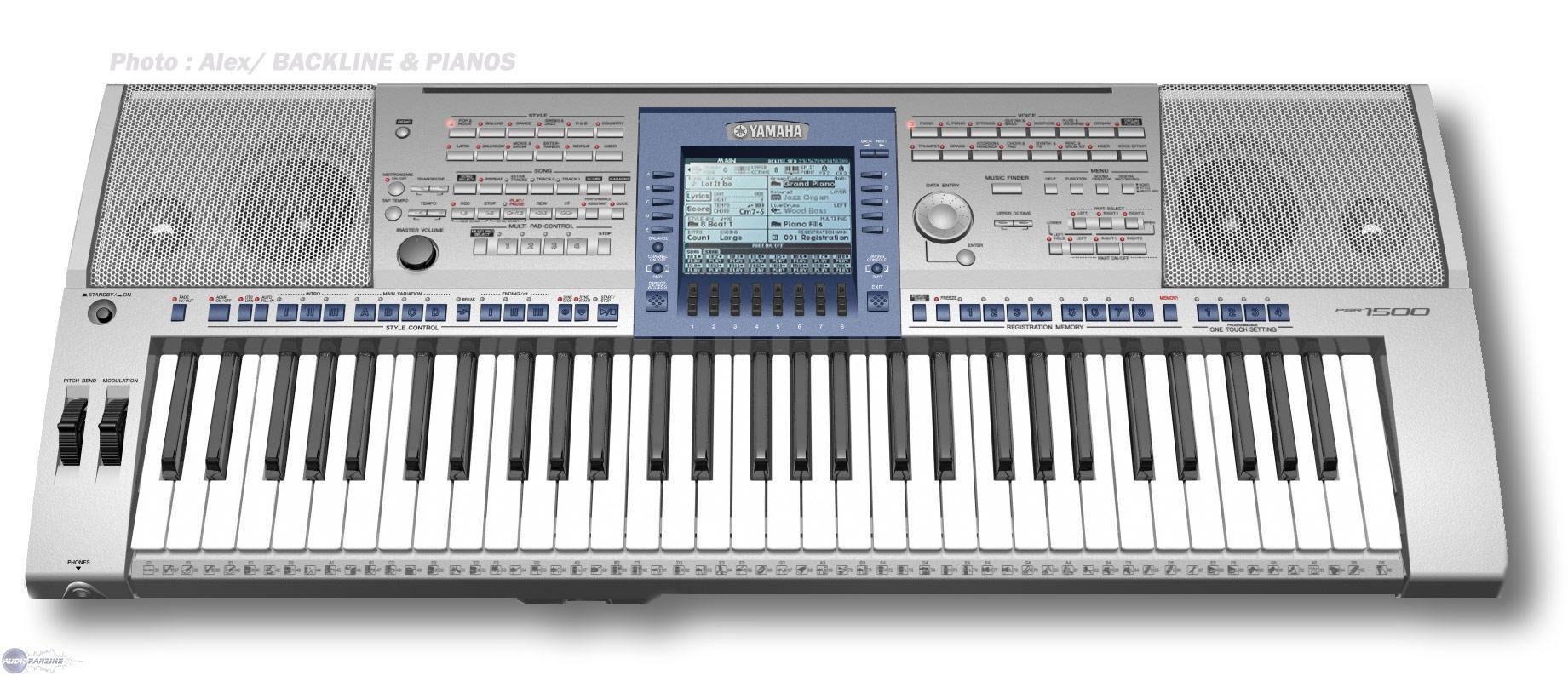 Avis d 39 utilisateurs yamaha psr 1500 audiofanzine for Yamaha psr s