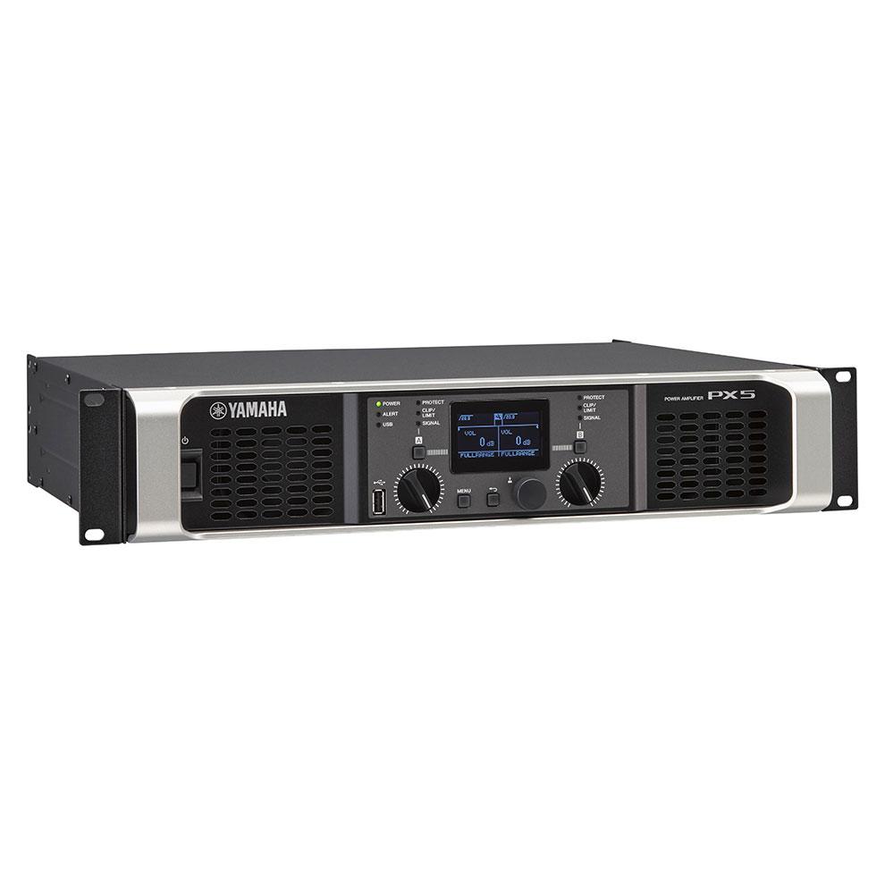 yamaha px5 power amplifier 2 channel 800 watt class d amp