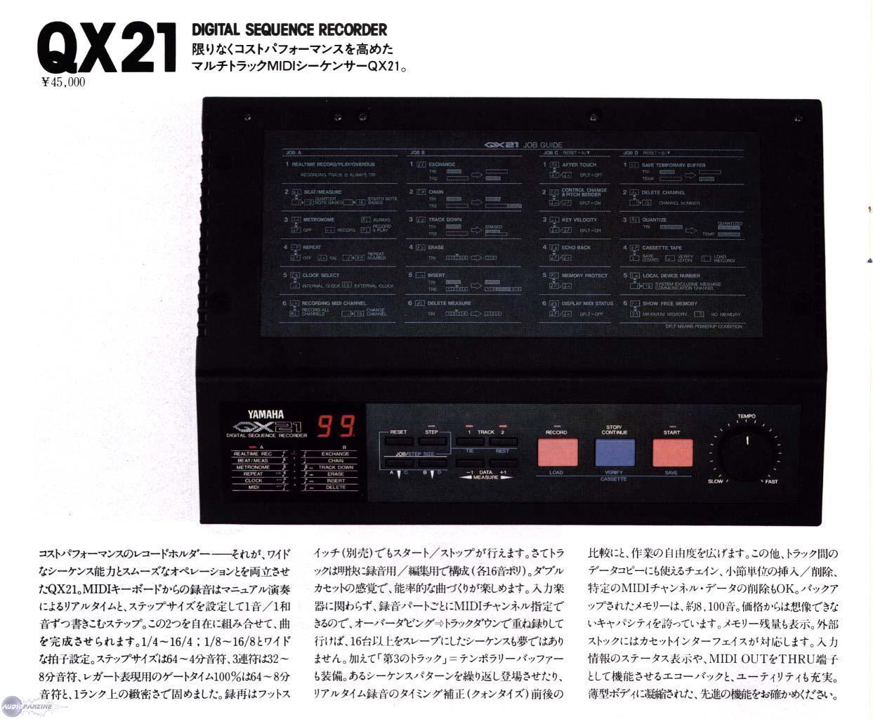 Yamaha Qx Review