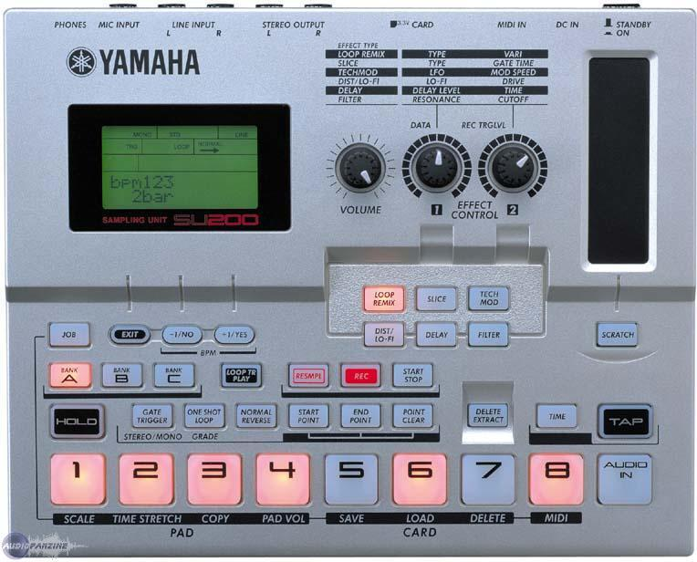 Yamaha su200 sampling unit phrase recorder looper sampler su-200.