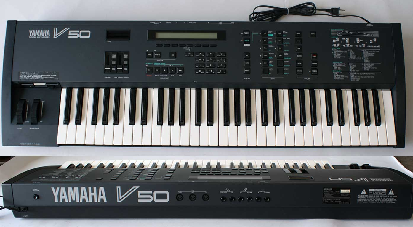 Patches yamaha v50 4OPHQ