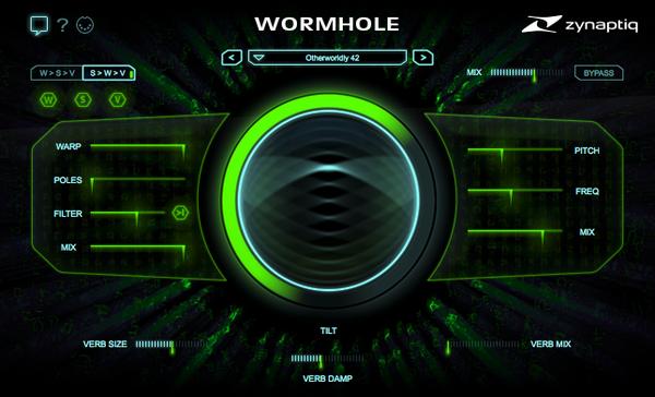 Le Wormhole de Zynaptiq en promo jusqu'au 31 août