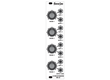 Abstract Data ADE-52 4:4 Mix Attenuator