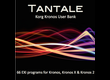 Barb & Co Tantale sound library for Kronos