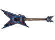 Dean Guitars Razorback DB Floyd DNA Spatter