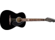 Avril Lavigne signs a Fender Newporter guitar