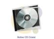 Pressage.EU Pressage CD - Boîtier CD Cristal (Plateau opaque)