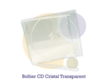 Pressage.EU Pressage CD - Boîtier CD Cristal (Plateau transparent)