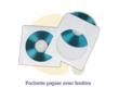 Pressage.EU Pressage CD - Pochette Papier avec Fenêtre