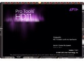 Licence AVID Pro Tools HD 11 (inclus egalement 10, 11, et HD 10 )