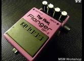 Boss BF-2 Flanger - The Flan - Modded by MSM Workshop