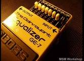 Boss GE-7 Equalizer - The Clairvoyant - Modded by MSM Workshop