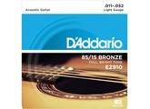 D'Addario 85/15 American Bronze Acoustic