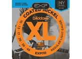 D'Addario EXP Coated Nickel Round Wound - EXP110 10-46 Light