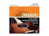D'Addario Flat Top Phosphor Bronze Wound Acoustic Guitar