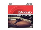 D'Addario Nickel Plated Mandolin
