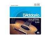 D'Addario Silk & Steel Acoustic Guitar