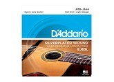 D'Addario Silverplated Wound Gypsy Jazz Guitar