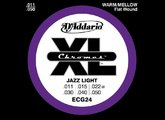 D'Addario XL Chromes Flat Wound - ECG24 11-50 Jazz Light